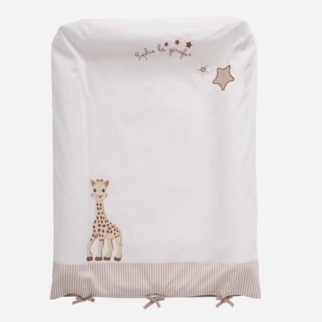 Housse de matelas à langer Sophie la girafe, Babycalin
