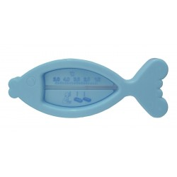 Thermomètre de bain poisson bleu
