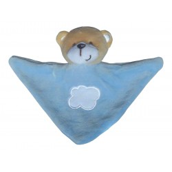 Mini Doudou triangle ours