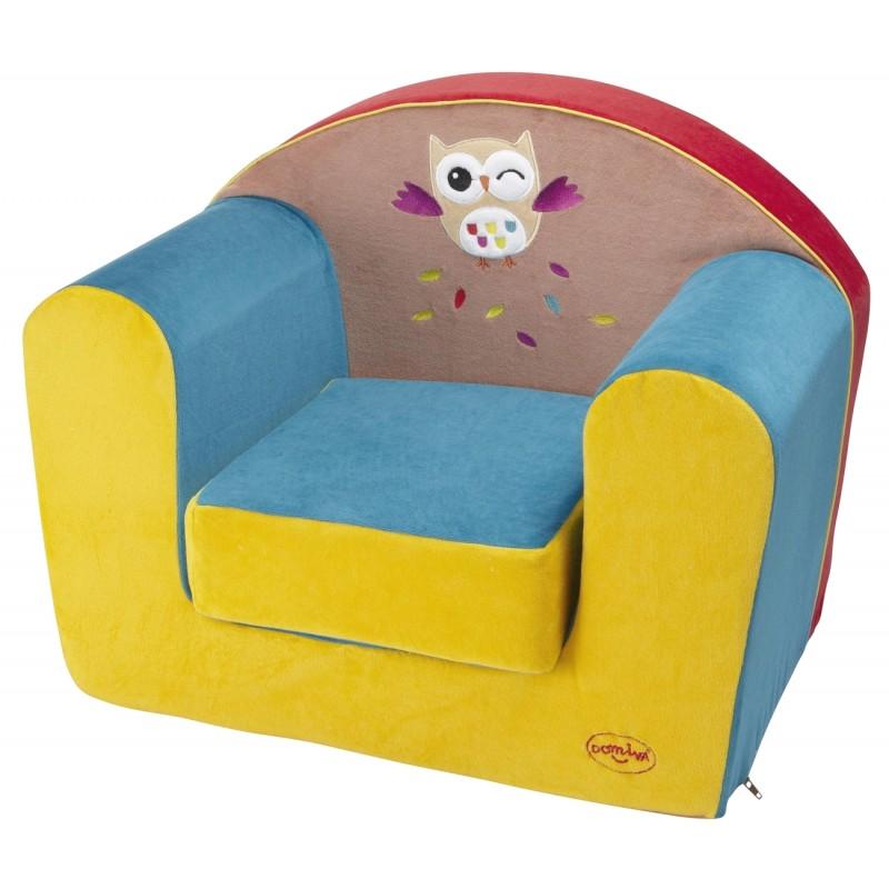 Fauteuil mousse les ziboux domiva for Housse fauteuil mousse bebe