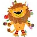 Doudou étiquettes Friends Lion