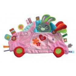 Doudou étiquettes Girl Car