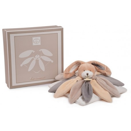 Doudou Collector Lapin taupe, doudou et compagnie