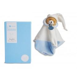 Doudou Ours bleu. L'Original, doudou et compagnie