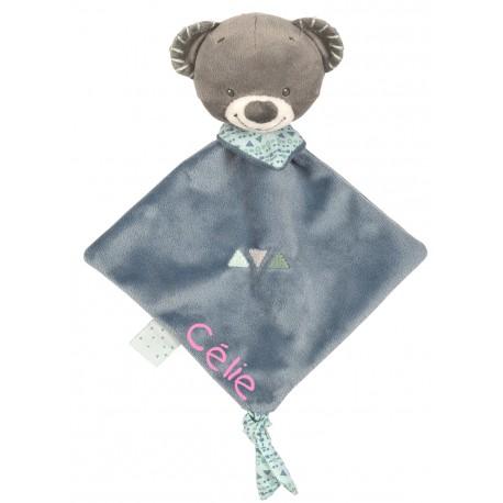 Mini doudou Jules l'ours, Nattou