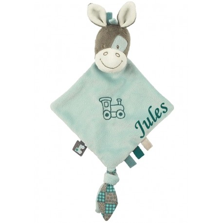 Mini doudou Gaston le cheval. Nattou
