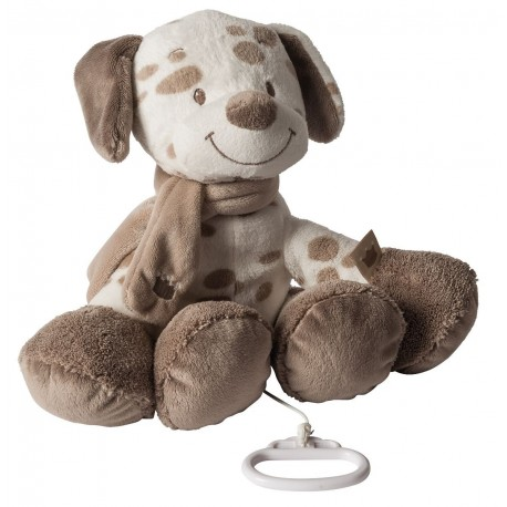 Peluche musicale Max le chien, Nattou : Bebe-star