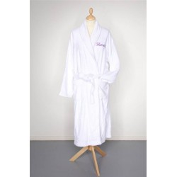 Peignoir de bain adulte