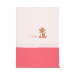 Couverture-plaid lit Charlotte et Rose, Nattou : Bebe-star