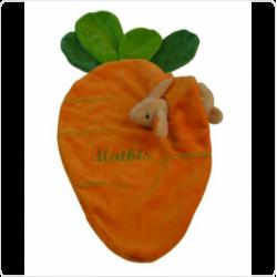 Personnalisez votre article :Doudou carotte