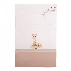Dessus de lit-plaid Sophie la girafe