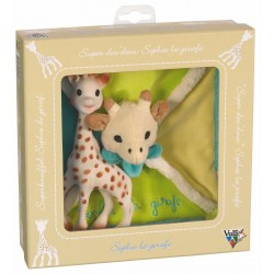 Coffret naissance+super doudou Sophie la girafe