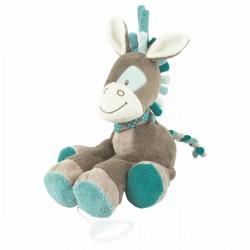 Peluche musicale Gaston cheval, Nattou : Bebe-star