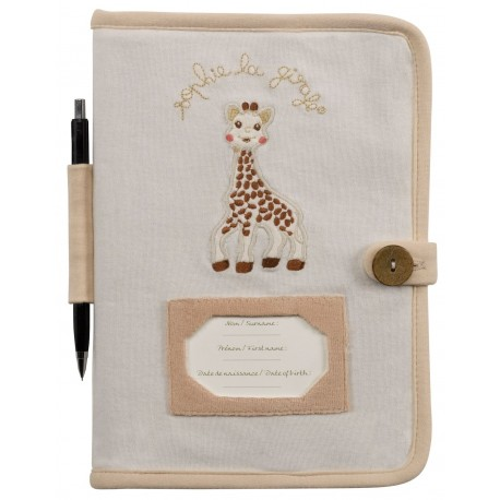 Protège carnet de santé Sophie la Girafe, Vulli : Bebe-star