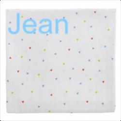Personnalisez votre article :Maxi lange imprimé Triangles multicolores