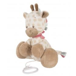 Peluche musicale Charlotte la girafe