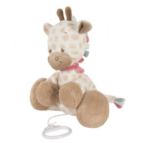 Peluche musicale Charlotte la girafe, Nattou : Bebe-star